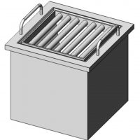 Grid Box Type Magnet