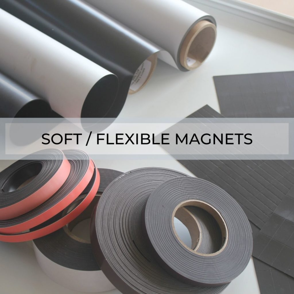 Soft/Flexible Magnets