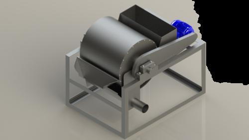 wet-drum-separator