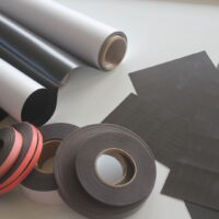 Magnetic Sheets and Rolls
