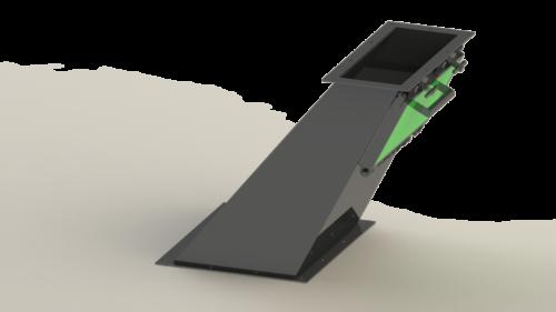 single-door-chute-magnet